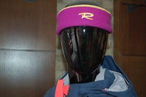 ROSSIGNOL Original Fleece Ski Headband Sporty Warm Ski Winter Comfy BRAND NEW