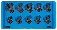 CROWS FEET SPANNER WRENCH SET IN CASE 10mm > 19mm ON 3/8 DRIVE IMPACT *