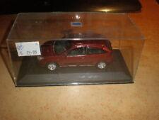 MINICHAMPS 1/43 Ford Fiësta  darkred metallic / maroon  MIB (no carton outerbox)