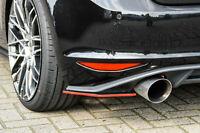 Heckansatz Seitenteile Cupwings Flaps Diffusor für Golf 7 GTI GTD aus ABS