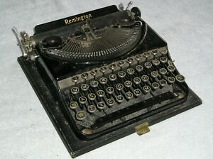 Antique Remington Potable Typewriter Model 5 ?