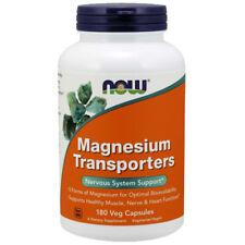 Now Foods Magnesium Transporters 180Caps Magnesium Glycinate/Taurinate/Malate