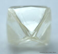 BEAUTIFUL OCTAHEDRON FLAWLESS NATURAL DIAMOND CRYSTAL READY TO SET IN JEWEL