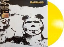 BAUHAUS LP Mask YELLOW Vinyl 2018 LIMITED Edn REMASTERED + PROMO Sheet IN STOCK
