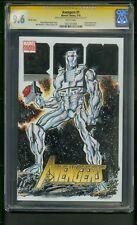 Avengers #1 (2010) Cgc Graded 9.6 Signature Series Anthony Castrillo Sketch