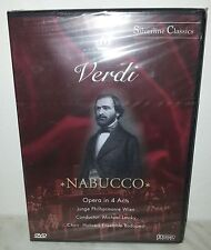 DVD VERDI - NABUCCO - OPERA IN 4 ACTS - NUOVO NEW