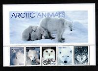 3288-92  1999 MNH Arctic Animals (HEADER STRIP)  MNH  6x9
