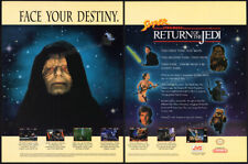 SUPER RETURN OF THE JEDI__Original 1994 print AD / game promo__SNES__Star Wars