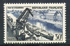 TIMBRE FRANCE NEUF  N° 1080 * PORT DE STRASBOURG COTE 9,50 € / NEUF CHARNIERE
