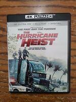 The Hurricane Heist 4K Ultra HD & Blu Ray (NO Digital)
