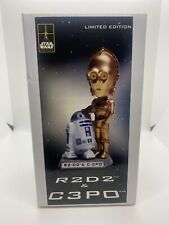 2002 STAR WARS FAN CLUB BOBBLE HEAD  R2D2 and C 3PO #1062/4000