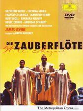 DVD Wolfgang Amadeus Mozart - Die Zauberflöte - James Levine - MET New York NEU!