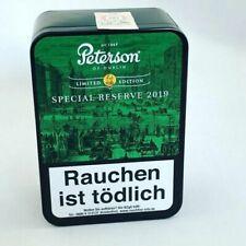 Peterson Tabak Special Reserve 2019 Pfeife Pfeifentabak 100g Dose Schmuckdose