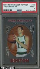 1996 Topps Finest Reprint #20 John Havlicek Boston Celtics PSA 9 MINT