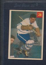 1954/55 Parkhurst #028 Bob Bailey Maple Leafs EX *47