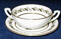 Royal Worcester BERNINA, Cream Soup Bowl & Saucer Set