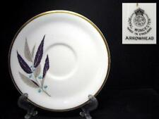 BEAUTIFUL ROYAL WORCESTER ARROWHEAD SAUCER ONLY