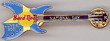 Hard Rock Cafe STOCKHOLM 2001 National Day GUITAR PIN 500