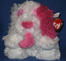 TY CLASSIC PLUSH - CRUSH the VALENTINES DOG - MINT with MINT TAGS