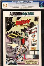 Aurora Comics Scenes #193-140 CGC 9.9 MINT! 1974 9.8 DC Robin cover! C6 495 1 cm