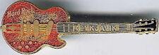 Hard Rock Cafe REYKJAVIK 1996 Wall Guitar PIN - Bob Welch #7719 Memorabilia Memo