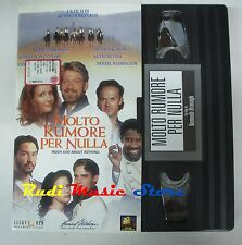 film VHS MOLTO RUMORE PER NULLA Denzel Washington CARTONATA 1993 (F6**) no dvd