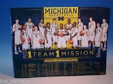 2009-10 University of Michigan Men's Basketball Poster