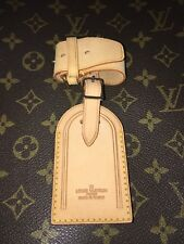 Louis Vuitton Name Tag w/ Strap for Luggage Keepall Handle Keeper - 1 Set