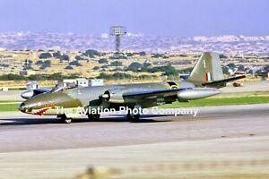 RAF 16 Squadron English Electric Canberra B(I).8 XM271 at RAF Luqa Photograph