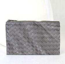 New Authentic BOTTEGA VENETA Intrecciolusion Nylon Cosmetic Bag Pouch 301369