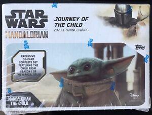 TOPPS STAR WARS MANDALORIAN JOURNEY OF THE CHILD BLASTER BOX PLUS BONUS NEW PACK