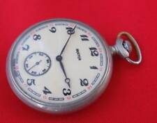 Antique New Vintage Molnija Ship Boat Soviet Russian Pocket Watch 18 Jewels Matching In Colour