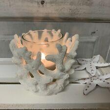 GISELA GRAHAM Christmas candle holder lantern bird house rustic Country Living