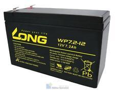 Kung Long VdS-Blei-AGM-Akku WP7.2-12, 12V, 7,2 Ah