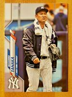 2020 Topps Series 1 SP Photo Image Variation Masahiro Tanaka #279 NY Yankees