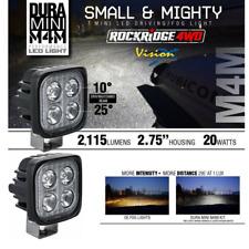 Vision X New Dura Mini M4M LED Compact Work LED Light *PAIR* Rock Light, Fog 4x4