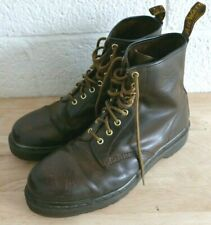 Pair of Dr Martens Size 12 Air Wair Boots Brown (Hospiscare)