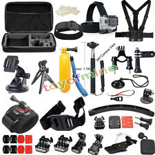 37 All-in-1 Profesional Kit Accesorios Bundle para GoPro HD Hero 4 3 + 2 SJ4000