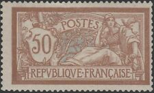 """FRANCE STAMP TIMBRE N° 120 """" TYPE MERSON 50c  BRUN ET GRIS """" NEUF xx TB  K440"""