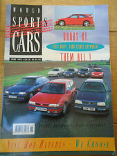 World Sports Cars Jun 1992 Escort RS Cosworth, AMG Mercedes 190 2.6, Koenig 850i