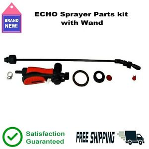 ECHO Sprayer Parts Kit Wand Adjustable Nozzles Elbow Replacement Flow Control 👍