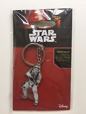 4 STORMTROOPER KEYRINGS/STAR WARS METAL KEYRING-5CM-NEW-PARTY BAG FILLER/GIFT