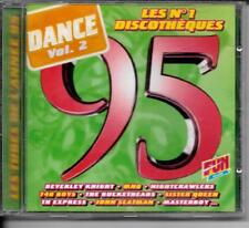 CD COMPIL 20 TITRES--DANCE VOL.2 1995--KNIGHT/740 BOYS/MASTERBOY/SCATMAN/PUSSY