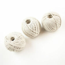 Pack of 12 - 80m Household Home Office Ball Of Cotton String Twine Rope