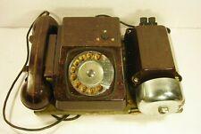 Retro Rotary Telephone TAH-B Wall Soviet Phone USSR 1980s