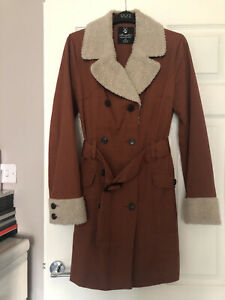 ladies Lovely Rustic coat size 12 used