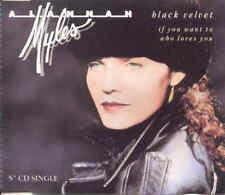 ALANNAH MYLES - Black velvet 3TR CDM 1990 BLUES ROCK