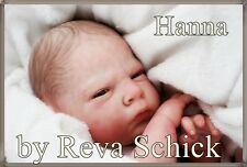 "Baby  Reborn HANNA by   REVA SCHICK Cute BOY  21"" ultra reality! Belly Plate"