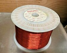 Magnet Copper Wire 27AWG SNSR   9+  Pound spool  Magnetic Coil Winding