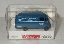 Wiking H0 1:87 Mercedes Benz L319 Panoramabus blau 0260 01 NOS NEU OVP